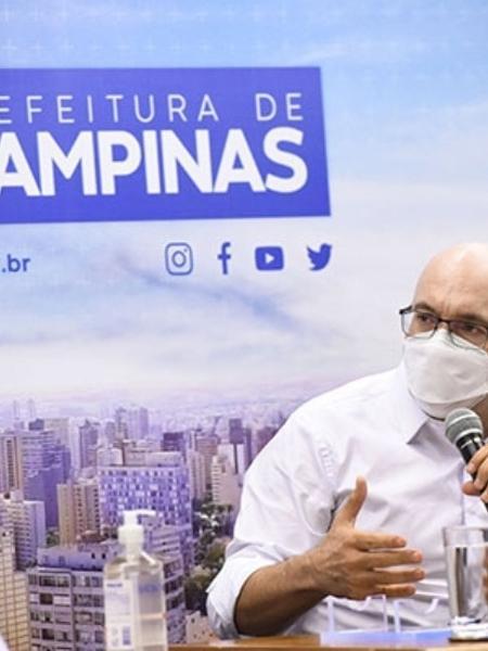 Prefeito de Campinas, Dário Saadi - Reprodução/Prefeitura de Campinas