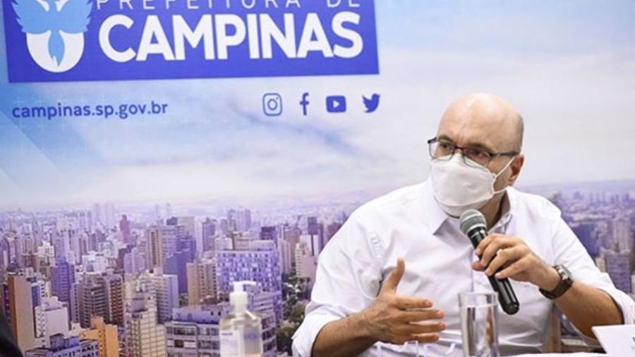 Devido à internação hospitalar, Saadi pediu afastamento do cargo por 15 dias - Reprodução/Prefeitura de Campinas