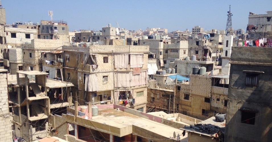 Chatila foi aberta pela Cruz Vermelha em 1949 para receber apenas 3.000 refugiados palestinos