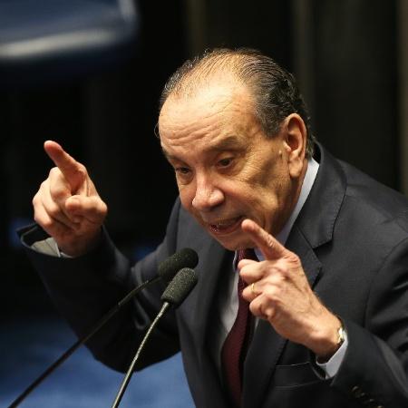 11.mai.2016 - Ex-senador Aloysio Nunes Ferreira (PSDB-SP) - Alan Marques/Folhapress