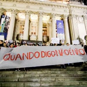 Após divulgação do caso, mulheres saíram às ruas do Brasil para protestar contra a cultura do estupro