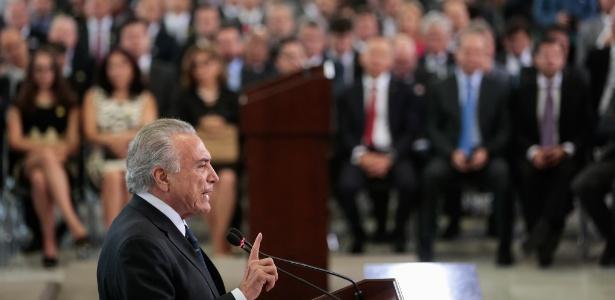"""Temer afirmou que, caso o Supremo acolha o pedido e um ministro se transforme em réu, será """"afastado definitivamente"""""""