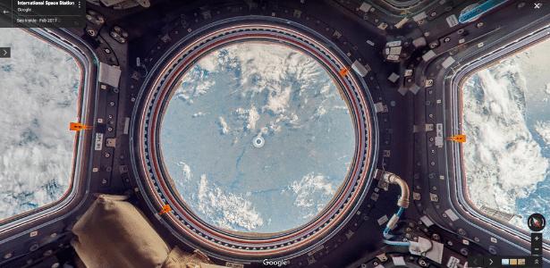 Google Street View libera imagens em 360º da Estação Espacial Internacional