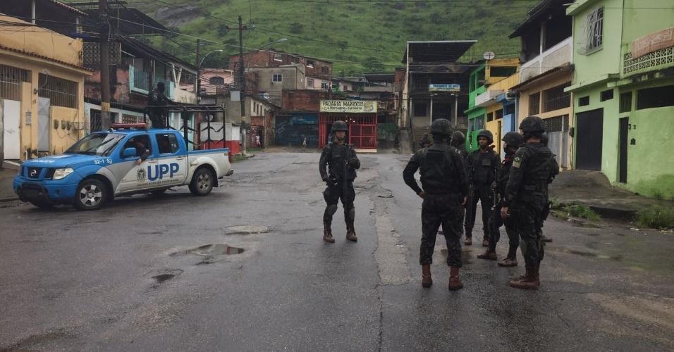 23.2.2018  Forças Armadas realizam operação na Vila Kennedy, zona oeste do Rio de Janeiro