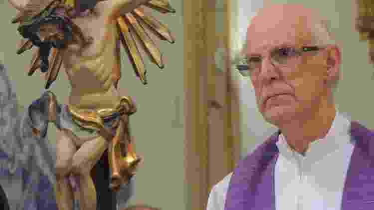 O padre Júlio Lancelotti é coordenador da Pastoral do Povo de Rua em São Paulo e diz estar sendo ameaçado - Arquivo pessoal - Arquivo pessoal