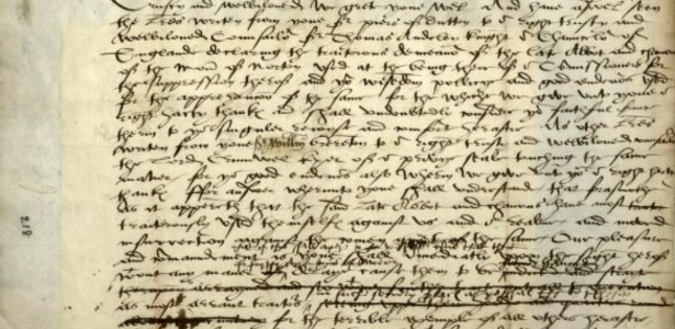 """Em carta, rei Henrique 8º ordena que abade seja """"enforcado, arrastado e esquartejado"""""""