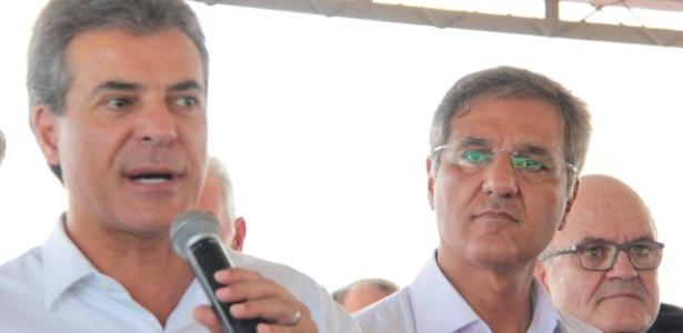 Pepe Richa (dir.) integrou o governo do irmão Beto Richa (esq.) no Paraná - Reprodução - 16.mar.2018/Facebook/José Richa Filho