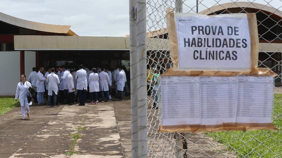 Imagem de arquivo; O Revalida é destinado a médicos formados fora do Brasil e que desejam exercer a profissão no país - Fabio Rodrigues Pozzebom/Agência Brasil