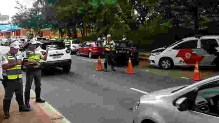 Pesquisadora diz que as forças de segurança estão preparadas para conter possíveis ataques do PCC nas ruas - Divulgação/PMESP