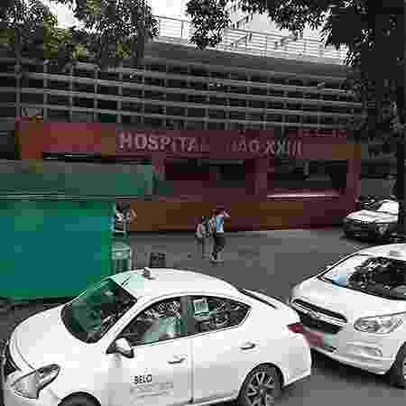 Fachada do Hospital João 23, em Belo Horizonte (MG), onde um paciente acusa um funcionário de estupro - Reprodução/Google Street View