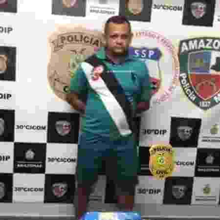 Edvaldo Valente Peres explicou à polícia que vendia drogas por causa do filho - Divulgação/Polícia Civil do Amazonas