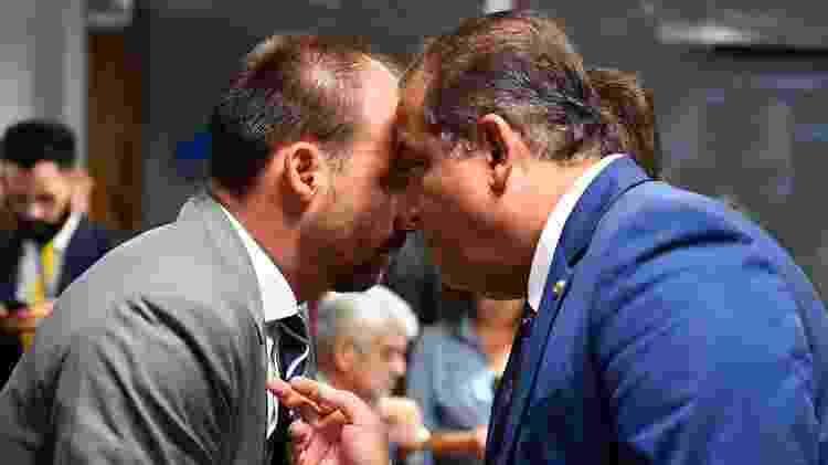 Eduardo Bolsonaro CPMI Fake News - Marcos Oliveira/Agência Senado - Marcos Oliveira/Agência Senado