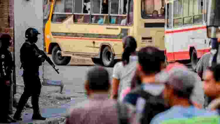 As ações controversas da Faes estão concentradas nos bairros mais pobres - Getty Images/BBC