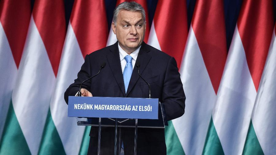 Viktor Orban, primeiro-ministro da Hungria - ATTILA KISBENEDEK/AFP