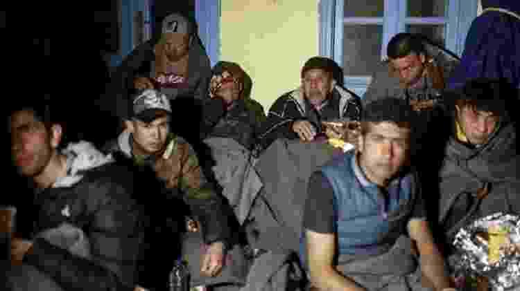 """Nova onda de migrantes ocorreu depois que presidente da Turquia afirmou que seu país estava """"abrindo as portas"""" para refugiados entrarem na Europa - Getty images - Getty images"""
