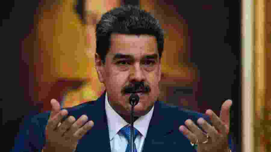 EUA consideram que Maduro é lider de um cartel de drogas em parceria com a guerrilha colombiana - AFP