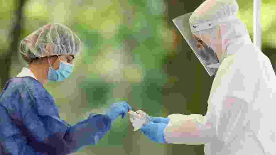 Exame que entra na cobertura agora é o que detecta IgG e anticorpos totais - Emmanuele Ciancaglini/NurPhoto via Getty Images