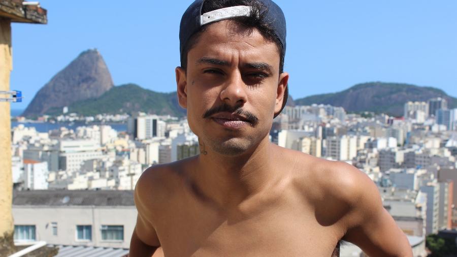 Jorge Hudson teve fuzil apontado contra ele por policial no Rio de Janeiro - Arquivo pessoal