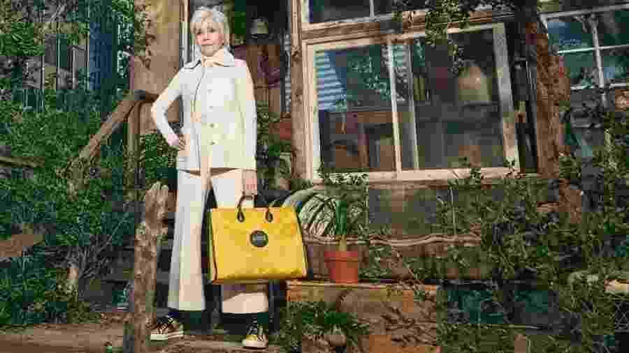 Jane Fonda é estrela de campanha sustentável e sem gênero da Gucci - Divulgação/Gucci/Harmony Korine