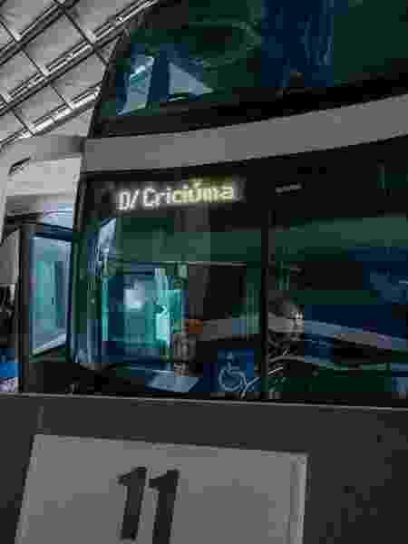 Ônibus enfileirados no Terminal Rodoviário Rita Maria, em Florianópolis (SC) - Ricardo Wolffenbuttel/Secom Governo SC