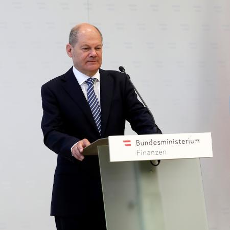 Ministro alemão de Finanças, Olaf Scholz - LEONHARD FOEGER/Reuters