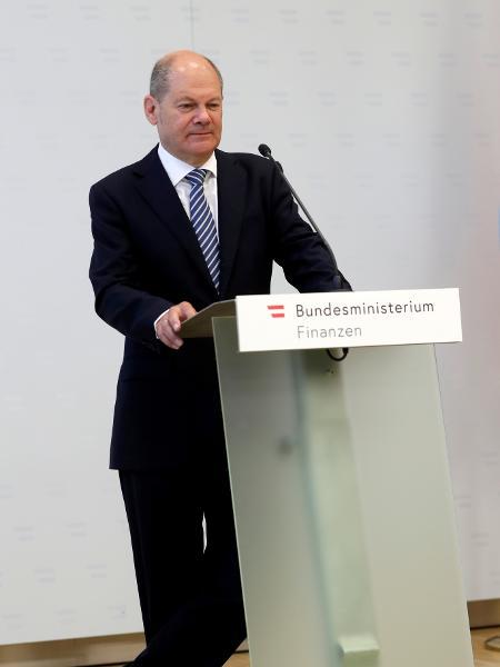 Olaf Scholz afirmou que maior endividamento é necessário para sustentar o progresso alcançado - LEONHARD FOEGER