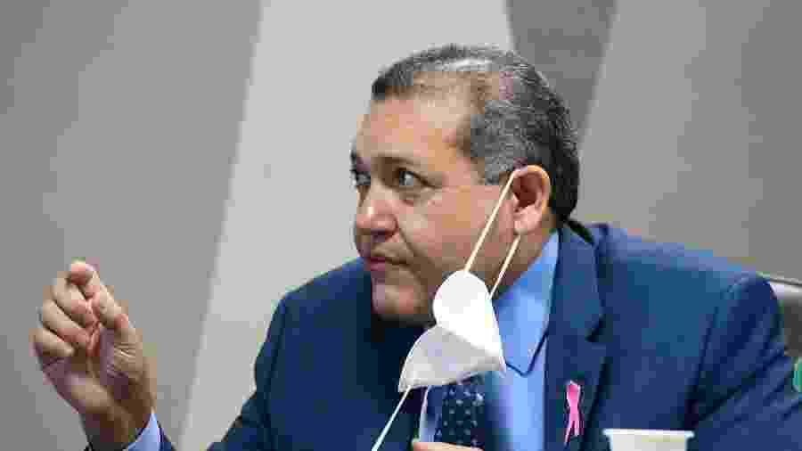 Kassio Nunes Marques durante sabatina no Senado - Marcos Oliveira/Agência Senado