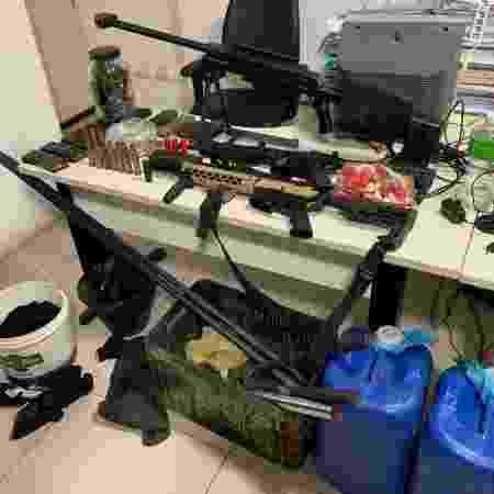 Armas - Polícia Federal/Divulgação - Polícia Federal/Divulgação