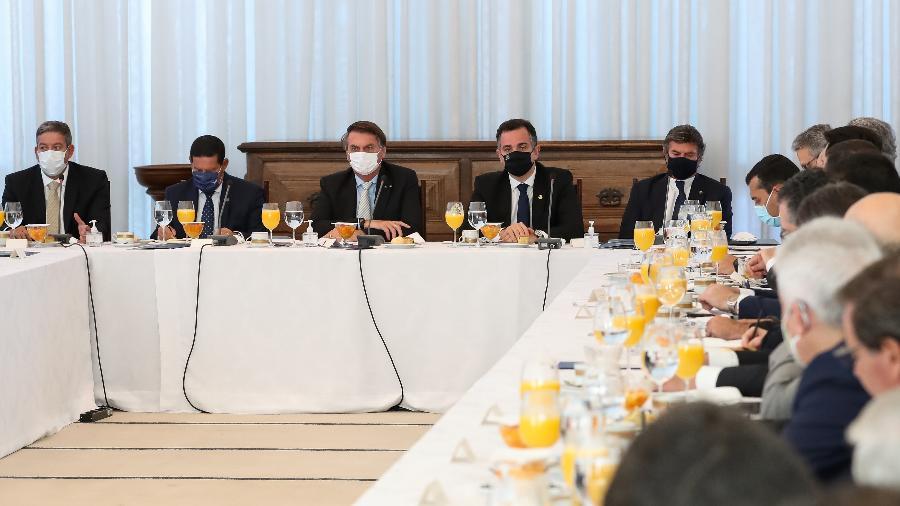 Criação do comitê foi discutida em reunião no Palácio da Alvorada na quarta-feira - Marcos Corrêa/Presidência da República