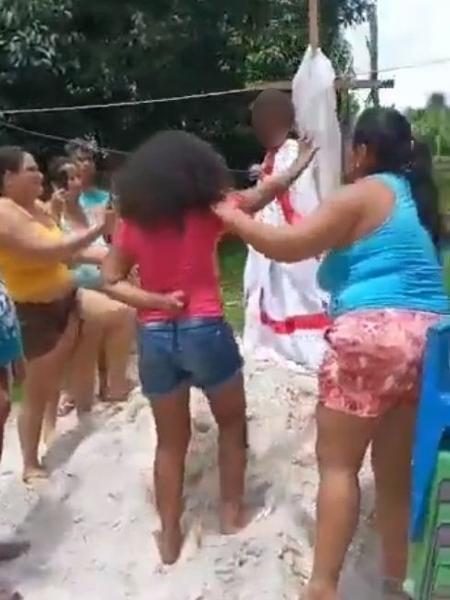 Crianças eram usadas em suposto ritual contra a covid-19, no Pará - Reprodução
