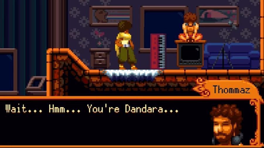Cena do trailer do game Dandara - Reprodução/ Youtube/ Raw Fury