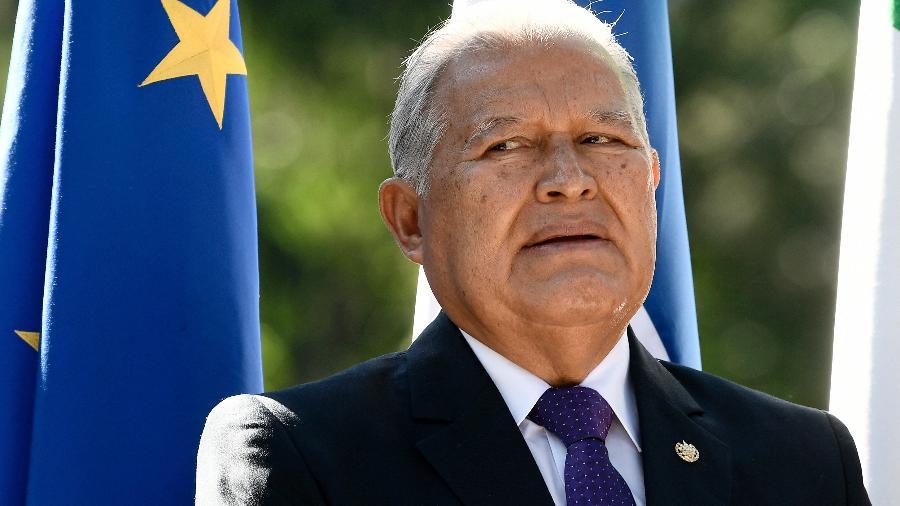 Ex-presidente de El Salvador, Sanchez Ceren está foragido da Justiça por crimes de corrupção - Filippo Monteforte/AFP
