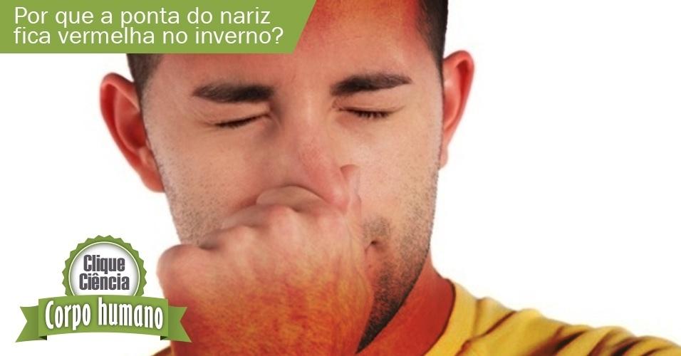 Clique Ciência: por que a ponta do nariz fica vermelha no inverno?