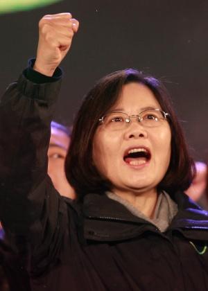 Tsai Ing-wen, líder do DPP em Taiwan