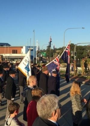 Evento nacional que comemora a participação da Austrália na 1ª Guerra Mundial era alvo de atentado - Brad Hazzard/Twitter