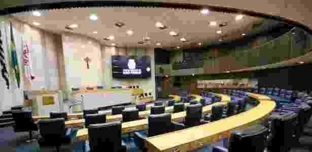 Plenário da Câmara Municipal de São Paulo, Câmara dos Vereadores, Palácio Anchieta - Andre Bueno/CMSP