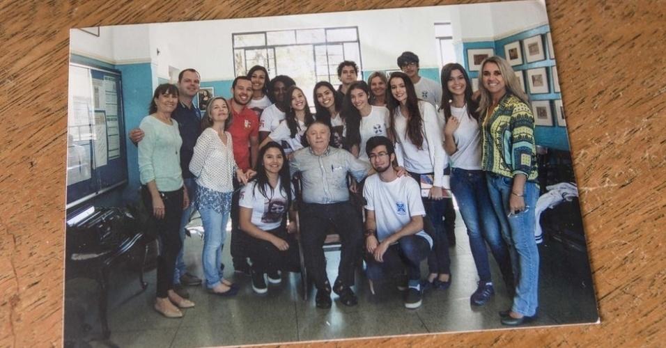 27.jan.2018 - Atualmente aposentado, Strul se dedica a manter viva lembrança do Holocausto por meio de palestras em escolas e eventos