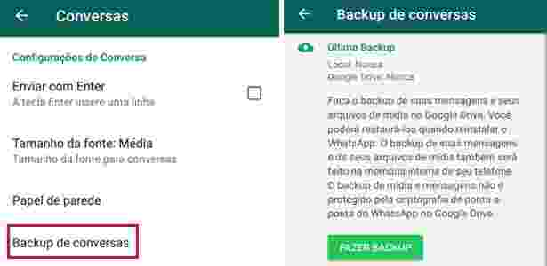 WhatsApp Android - backup2 - UOL - UOL