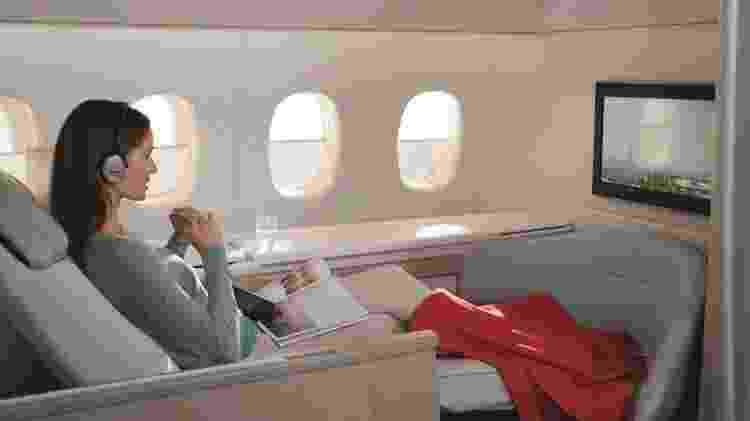 Air France é uma das companhias aéreas que têm reduzido a quantidade de assentos na primeira classe - Divulgação