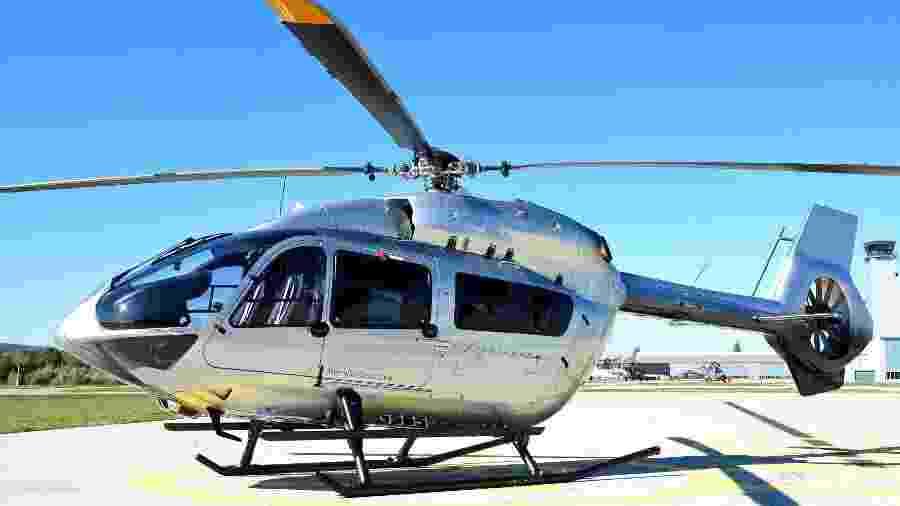 Helicópteros podem ser tão luxuosos quanto um jatinho, como é o caso do ACH145 com interior desenhado pela Mercedes-Benz - Marcus Schlaf/Airbus Corporate Helicopters