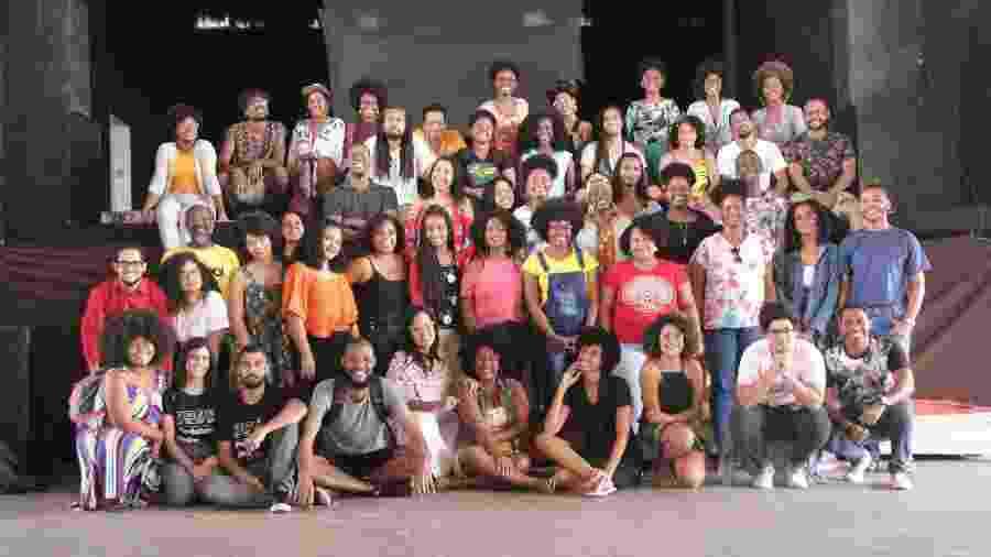 """Piloto do projeto """"Conexão Negra"""" foi realizado no Grupo Cultural Ilê Aiyê, em Salvador, durante três meses - Mario Augusto Santos Souza/Divulgação"""