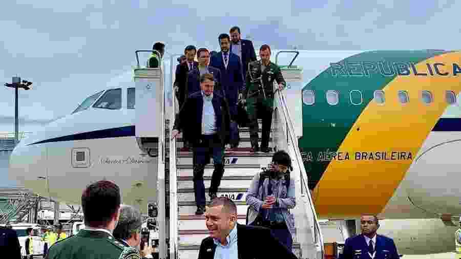 Jair Bolsonaro (PSL) chega ao Japão - Divulgação/Twitter/Planalto
