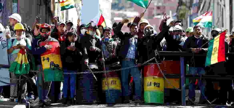 Bolívia vive onda de protestos  - REUTERS/Carlos Garcia