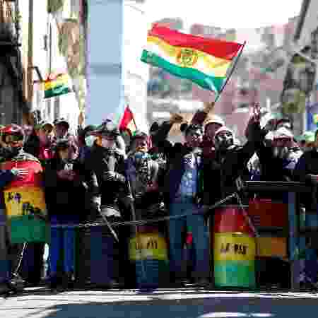Bolívia viveu onda de violência até a renúncia de Morales - REUTERS/Carlos Garcia
