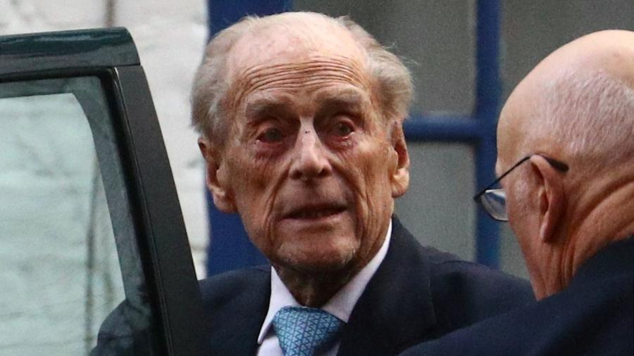 Príncipe Philip foi internado na terça-feira (16) - HANNAH MCKAY