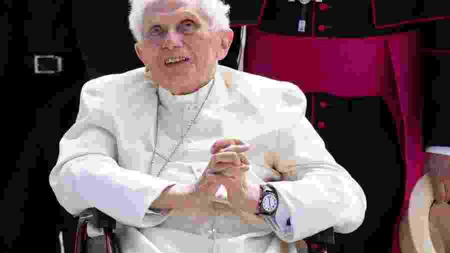 Papa Emérito Bento 16 em Munique antes de partir para Roma -