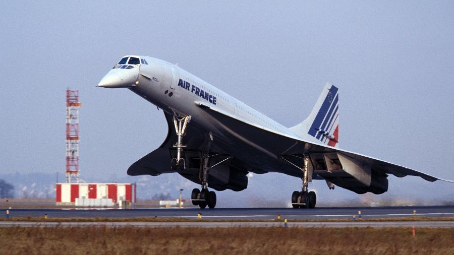 Concorde teve 20 unidades produzidas e voos somente pela Air France e British Airways - Divulgação