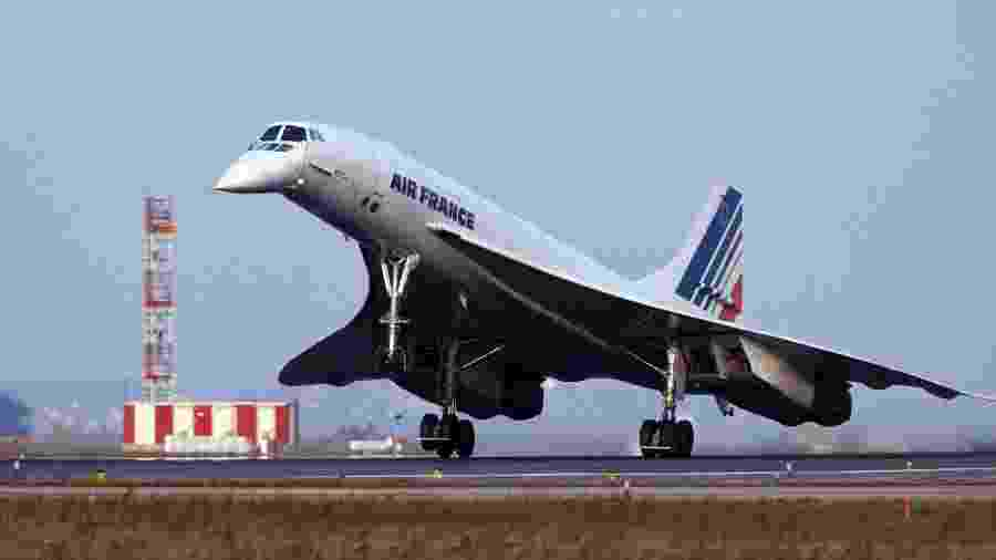 Concorde teve 20 unidades produzidas - Divulgação