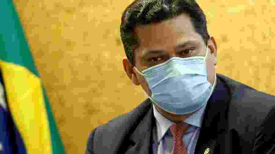 Presidente do Senado, Davi Alcolumbre, em Brasília -