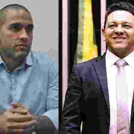 Arthur Henrique (MDB) e Ottaci Nascimento (Solidariedade), que lideram a pesquisa Ibope em Boa Vista   - Divulgação e Dilvulgação/Câmara dos Deputados